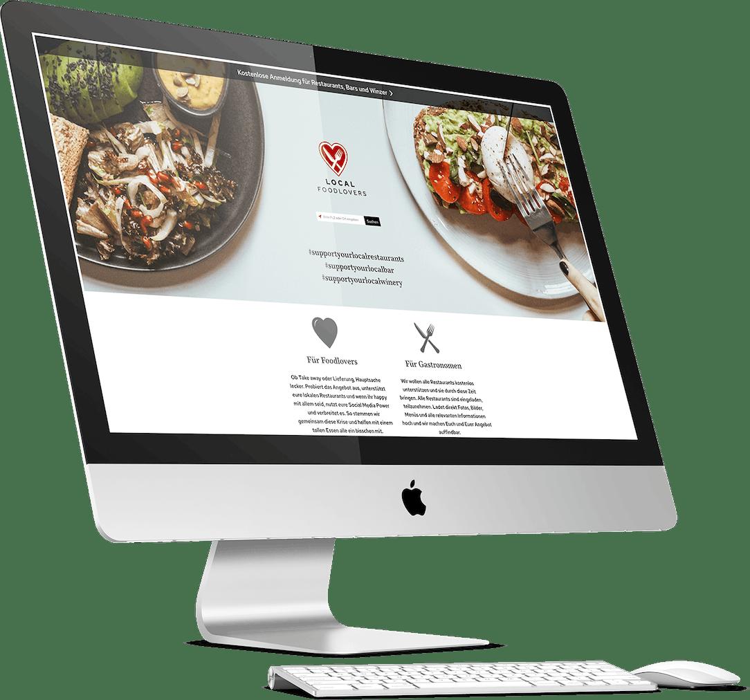 Local Foodlovers Website