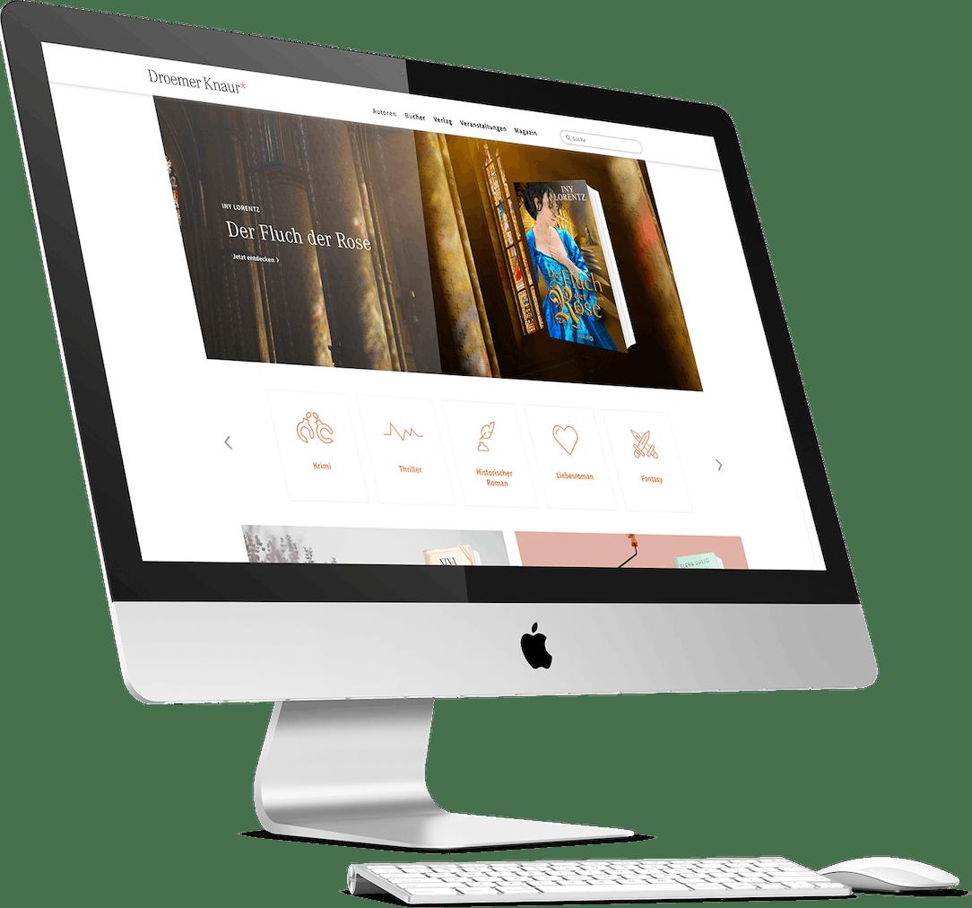 Holtzbrinck Droemer Knaur Website