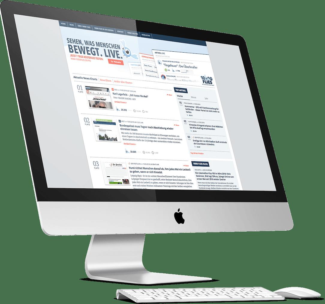 10000 Flies Website