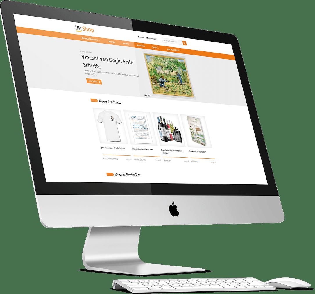 RP Shop Website