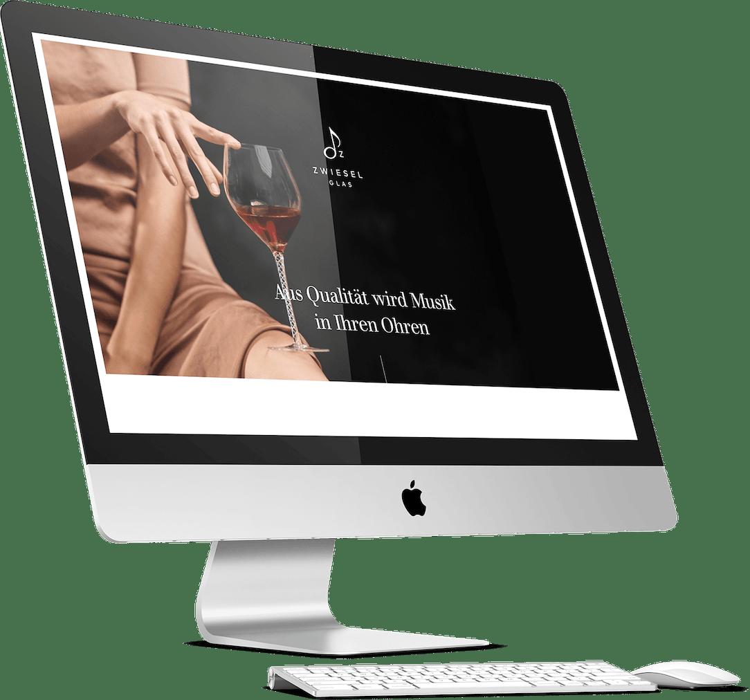 Zwiesel Glas Website