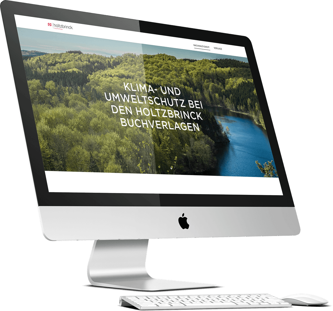 Holtzbrinck Website