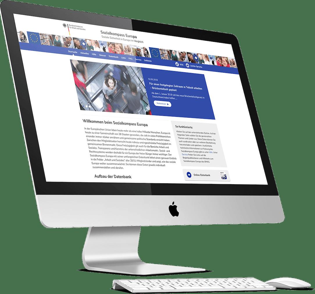 Sozialkompass Website