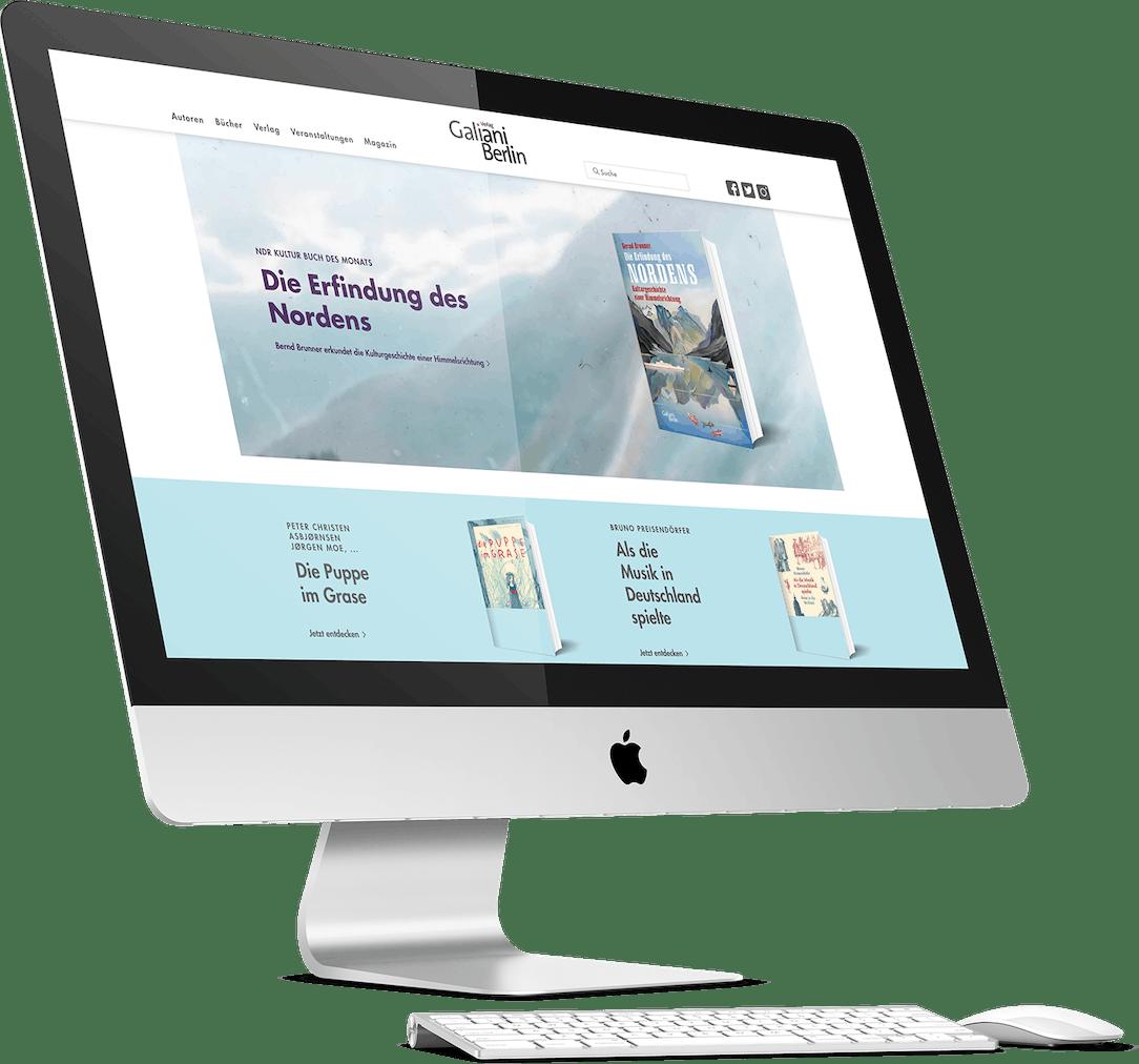 Galiani Website