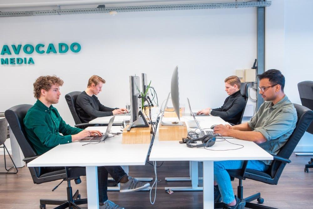 Economie onderwijs maatwerk platform door Avocado Media