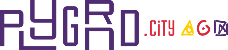 Logo PLYGRND city - Platform voor stedelijke buurtontwikkeling Amsterdam door Avocado Media
