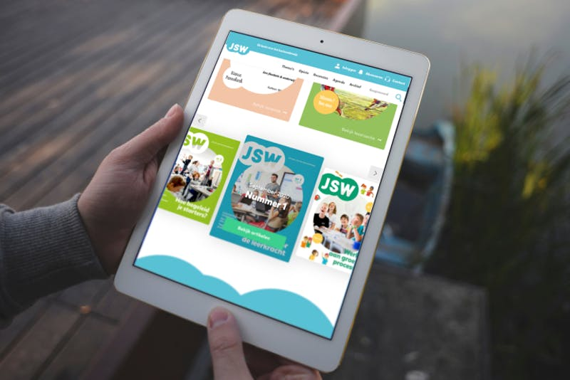 Tablet websites ThiemeMeulenhoff - JSW
