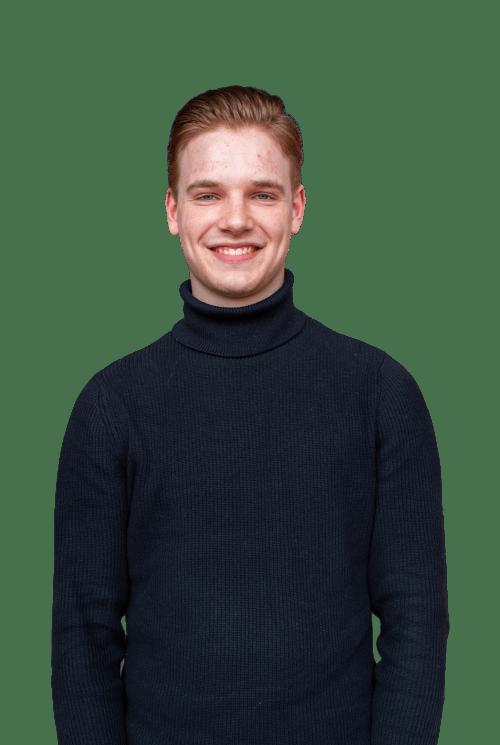 Front-end developer Sjors. Digital agency Amsterdam - Avocado Media