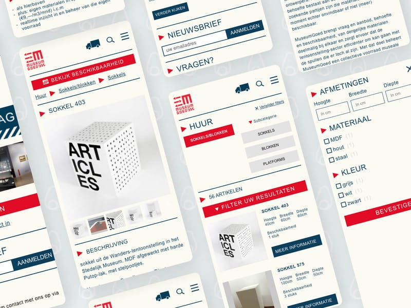 MuseumGoed online platform voor museumartikelen