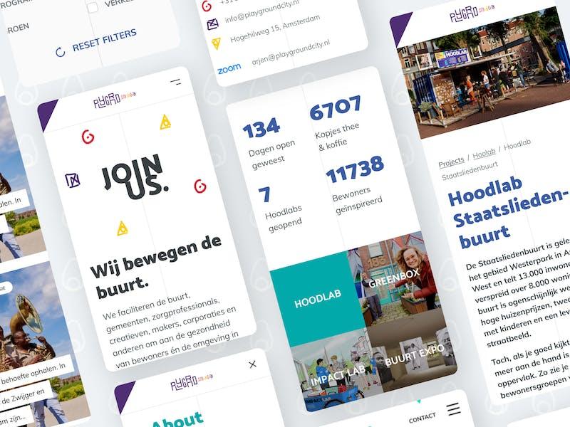 PLYGRND online platform voor buurtontwikkeling Amsterdam