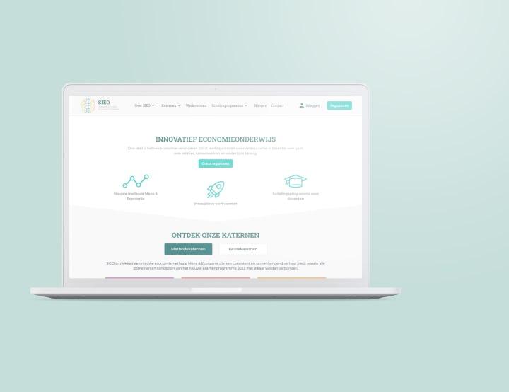 Educatie platform economie onderwijs homepage