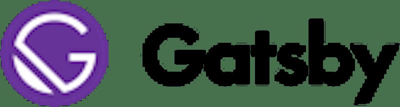 Snelle frontend - Gatsby logo