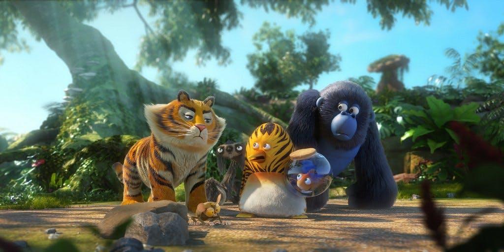 deadline animation cartoon tiger tat prod jungle