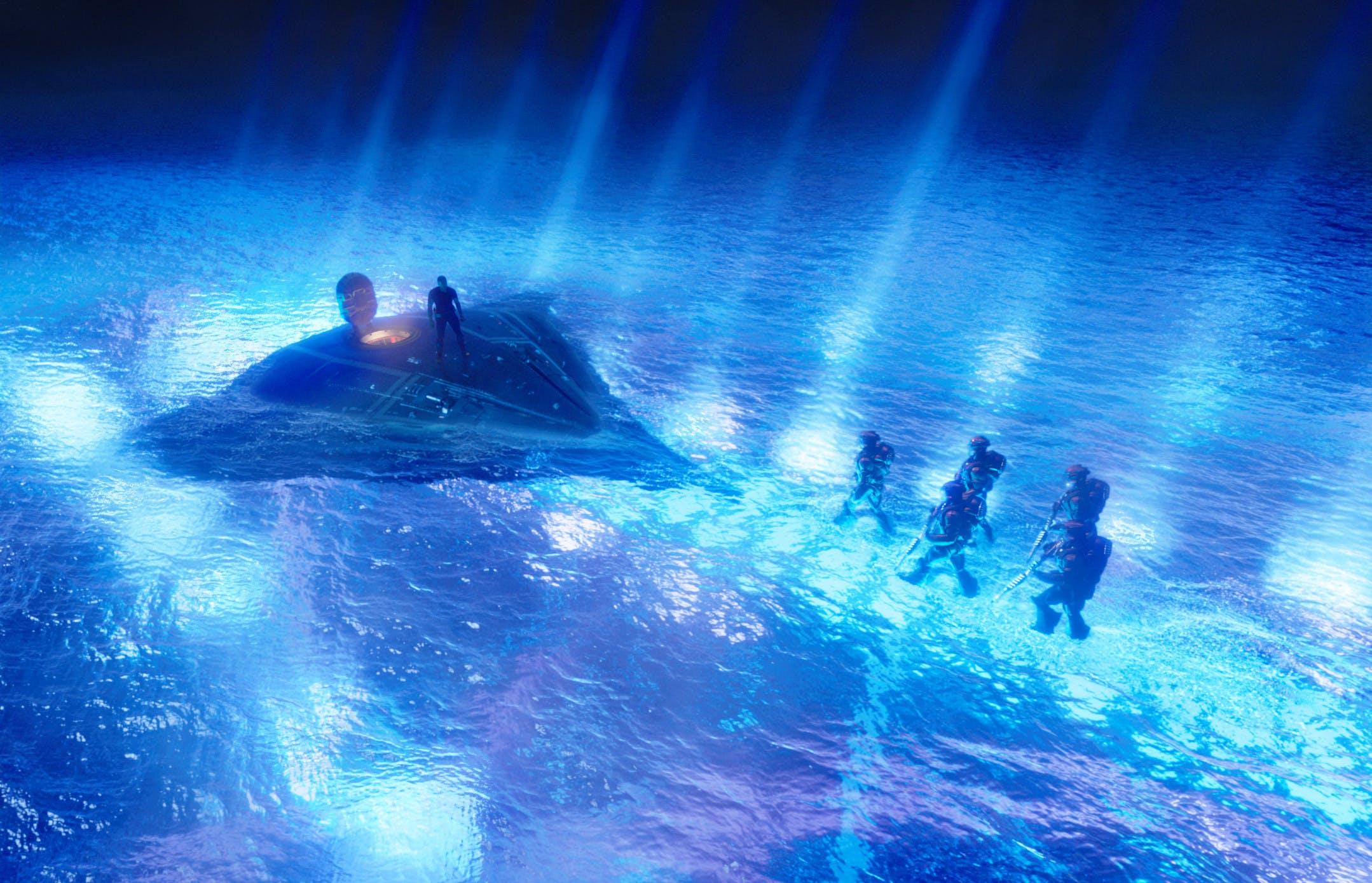 Scanline VFX. Render Farm. Aquaman. Cloud Rendering.