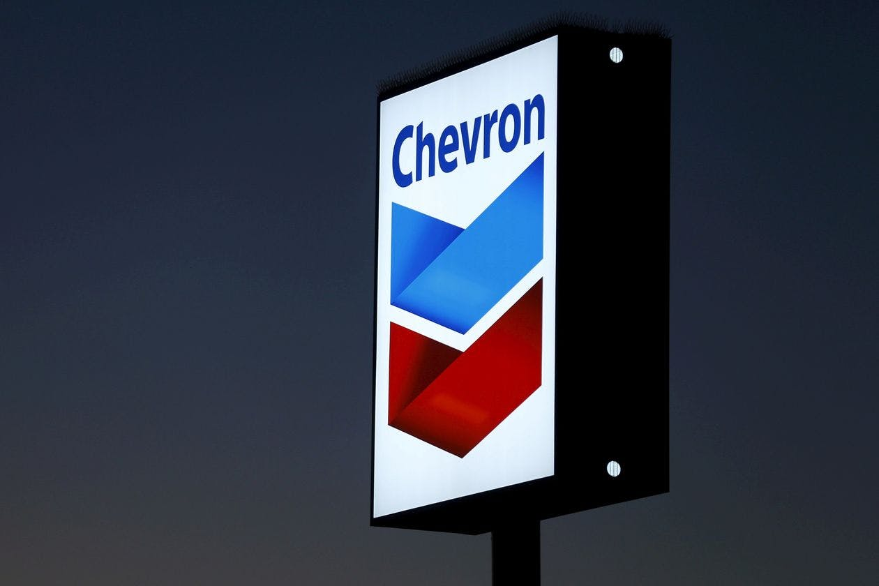 Chevron has lost nearly $5 billion this year.