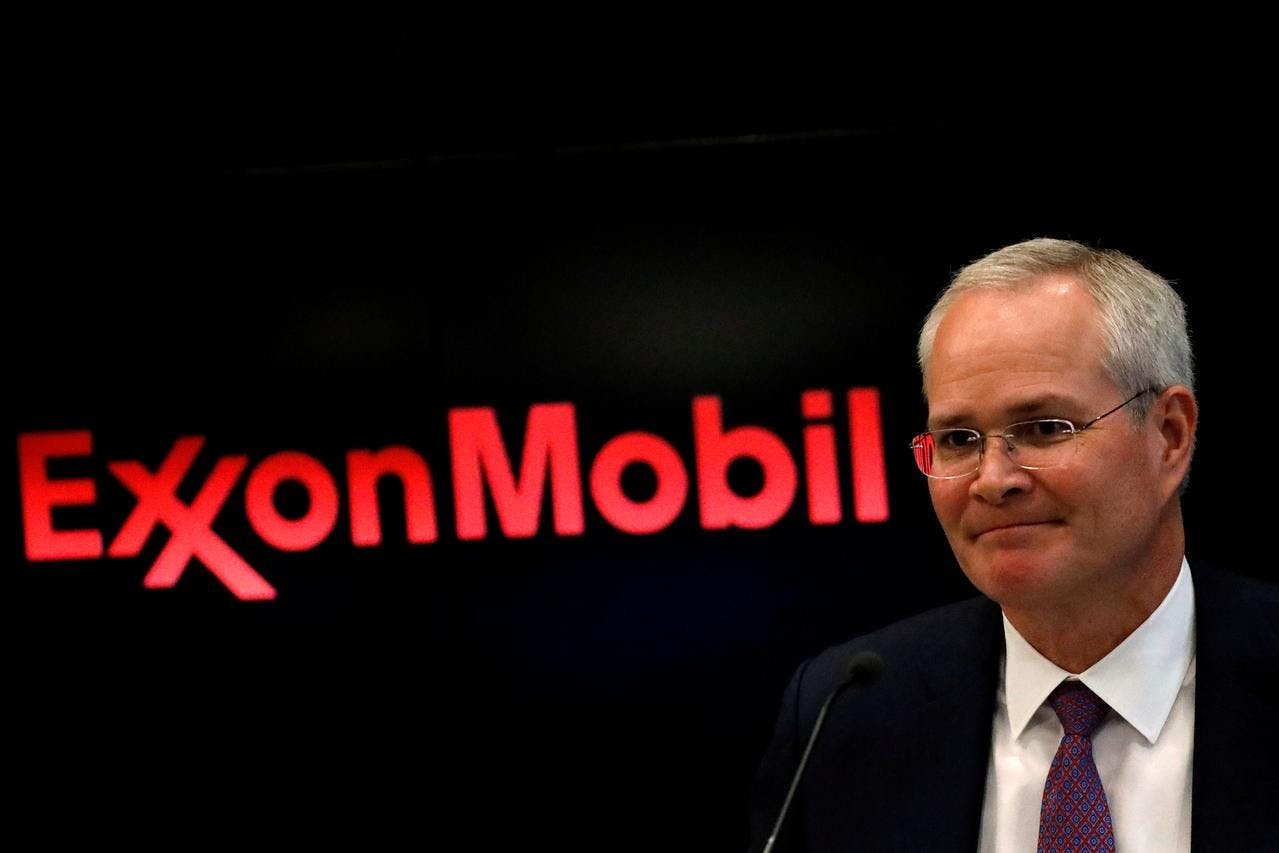 Darren Woods, Chairman & CEO of Exxon Mobil Corporation