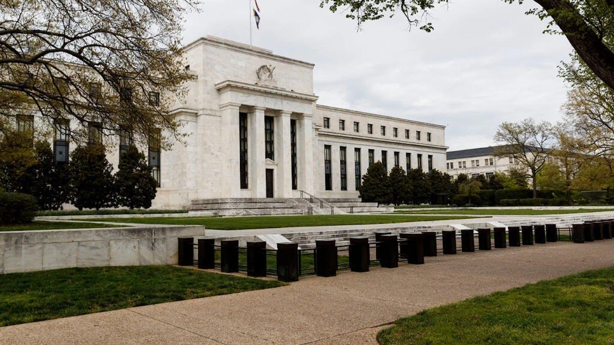 Federal Reserve building Washington D.C.