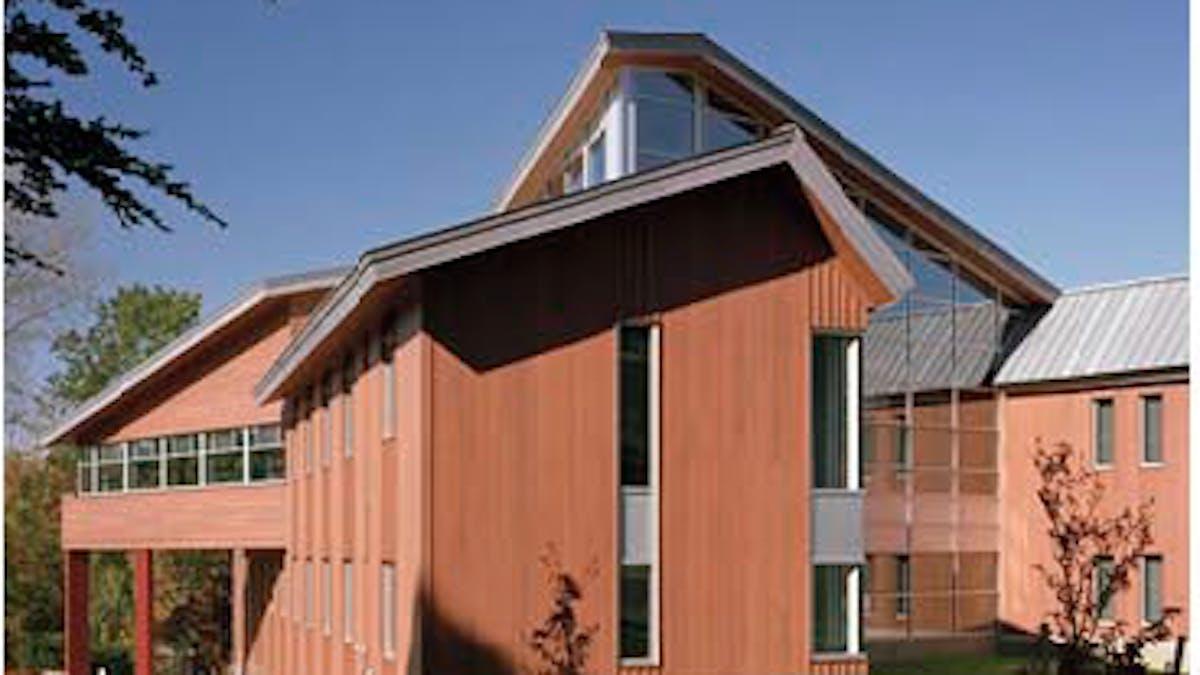 PERI building University of Massachusetts Amherst