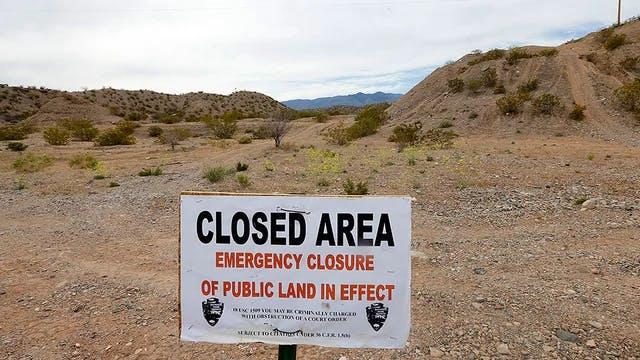 The Bureau of Land Management oversees millions of acres of public land