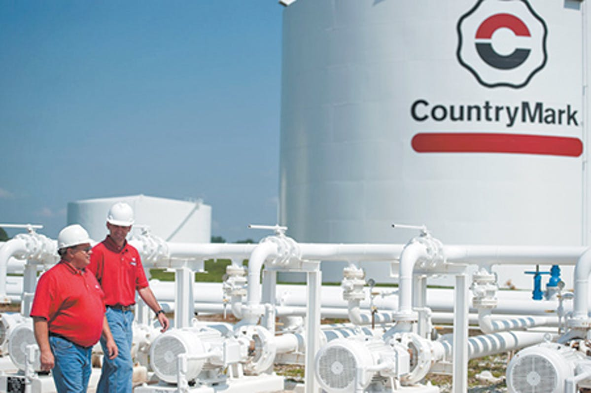 CountryMark oil refinery workers
