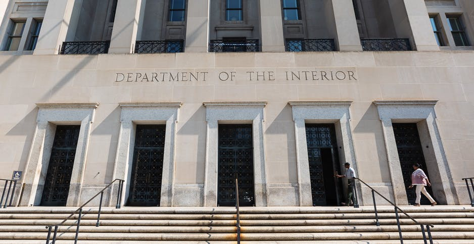 Department of the Interior headquarters in Washington, D.C.