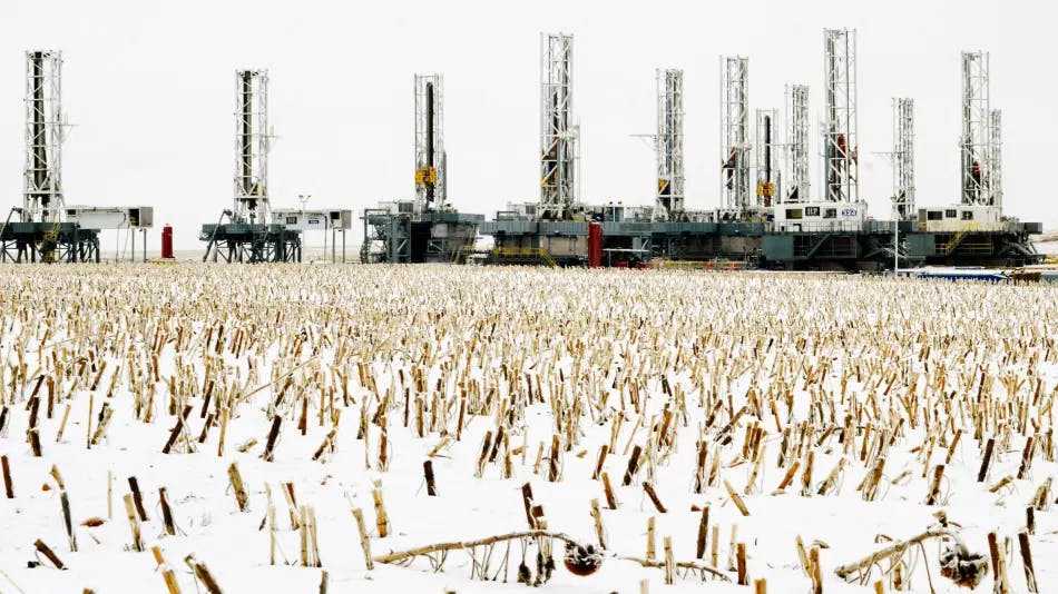 Winter for the US oil and gas industry.