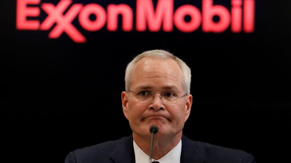 CEO Darren Woods Exxon Mobil