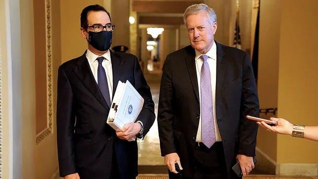 Treasury Secretary Steven Mnuchin and White House Chief of Staff Mark Meadows