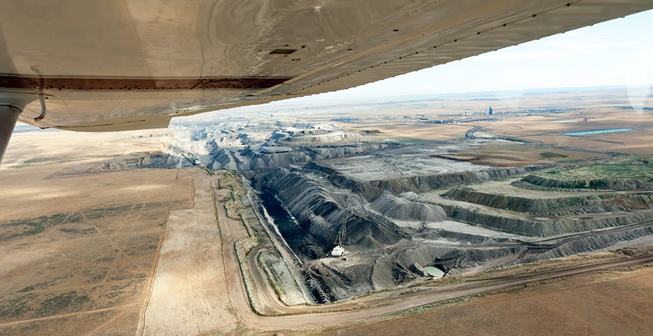 The Black Thunder coal mine in Wyoming is one of the nation's largest sources of coal. Arch Resources, its owner, is moving away from thermal coal production.