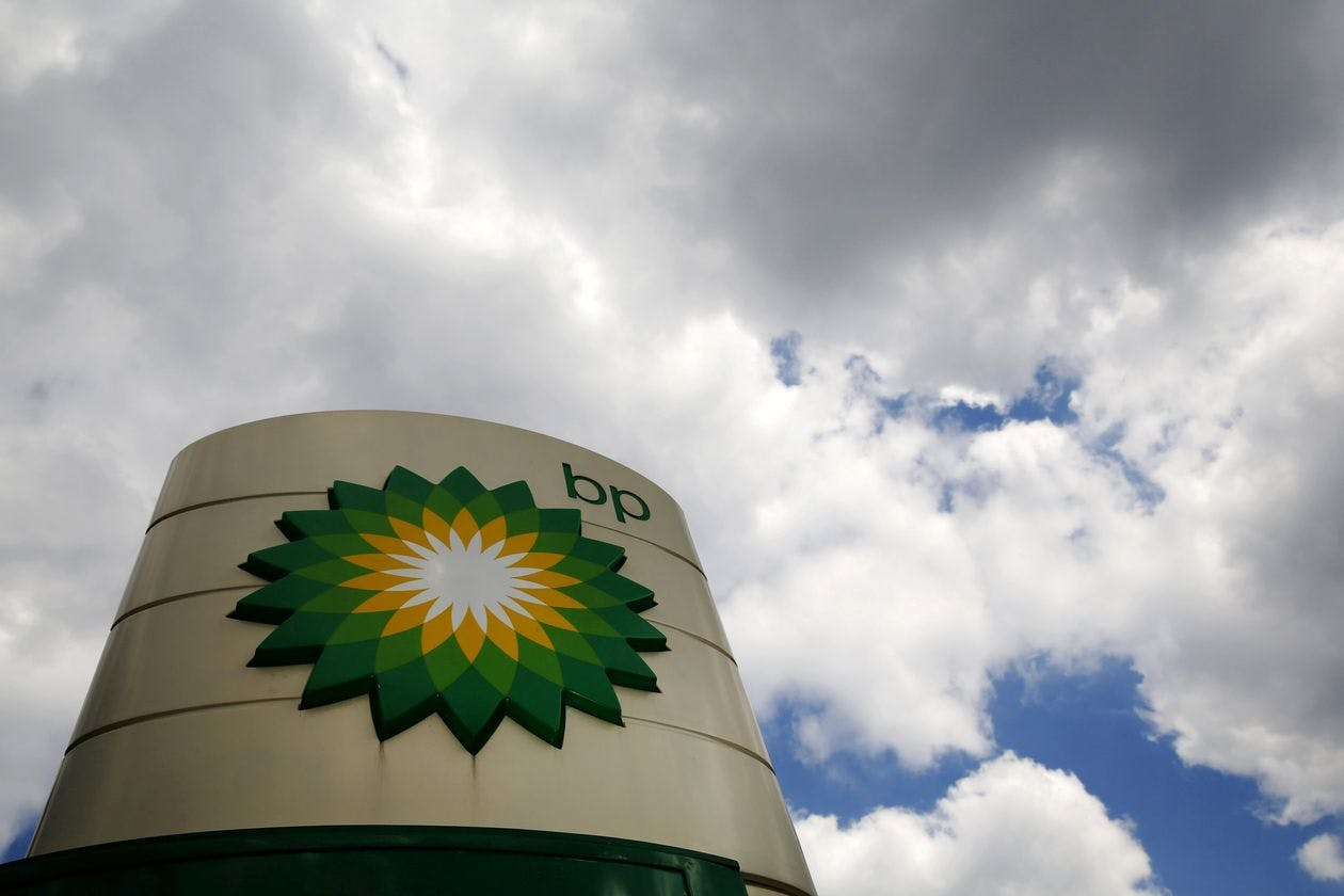 BP is part of an index of companies whose bonds the Fed could buy