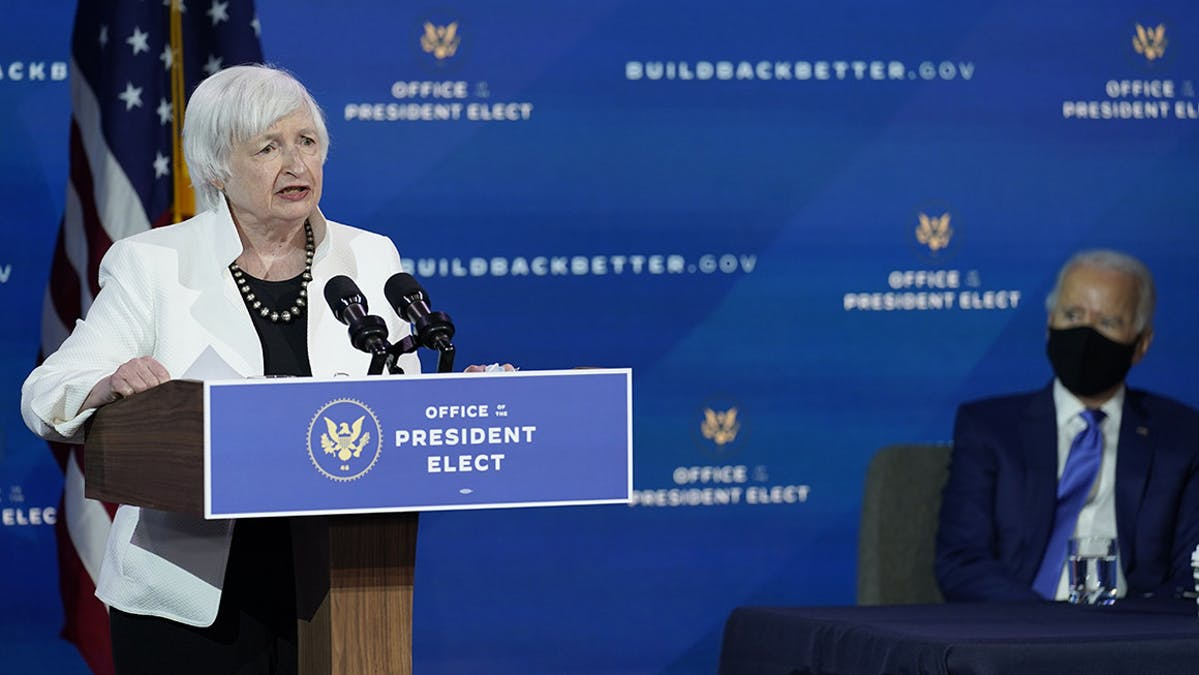 Janet Yellen Treasury Secretary