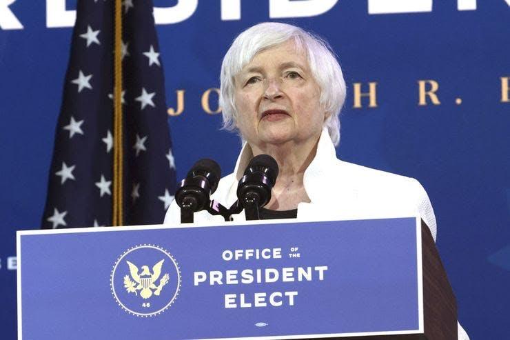 Biden's Treasury nominee Janet Yellen