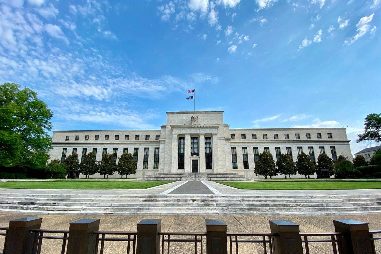 U.S. Federal Reserve building in Washington, D.C.
