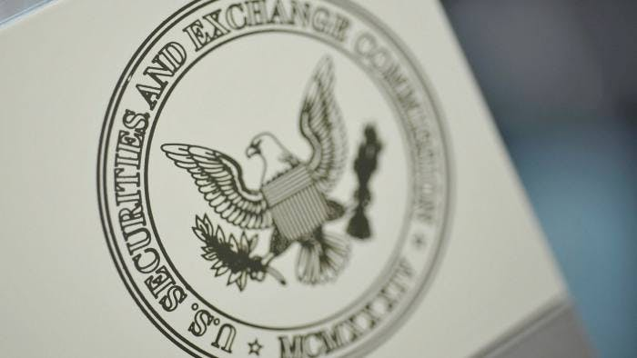 The Securities and Exchange Commission is off to a quick start scrutinizing bailout recipients