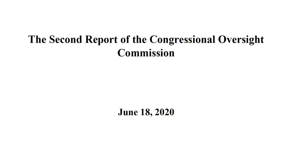 Congressional Oversight Commission second report