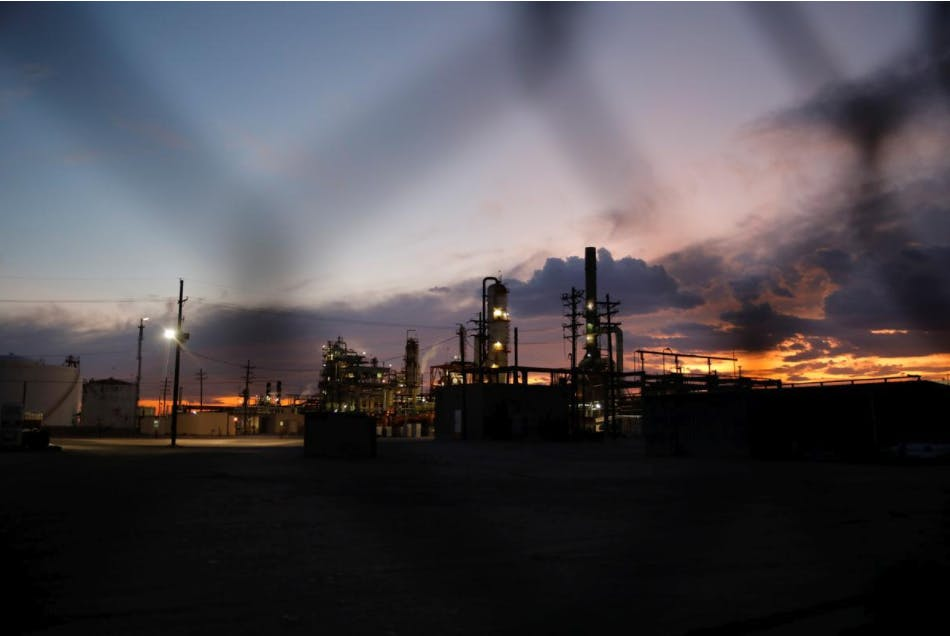 A general view of a refinery in Hobbs, New Mexico, U.S. September 18, 2019.