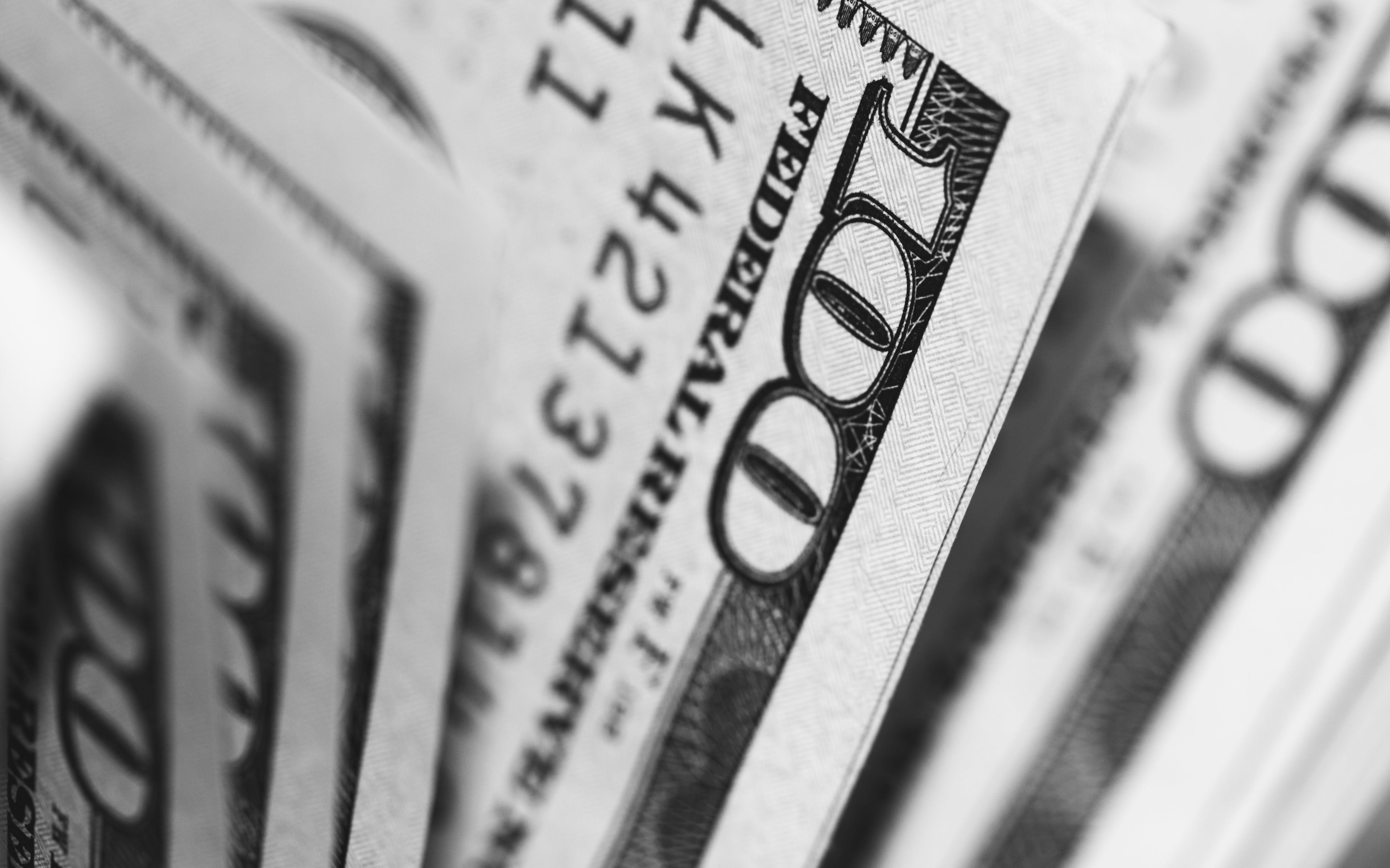 100 dollar bills US currency
