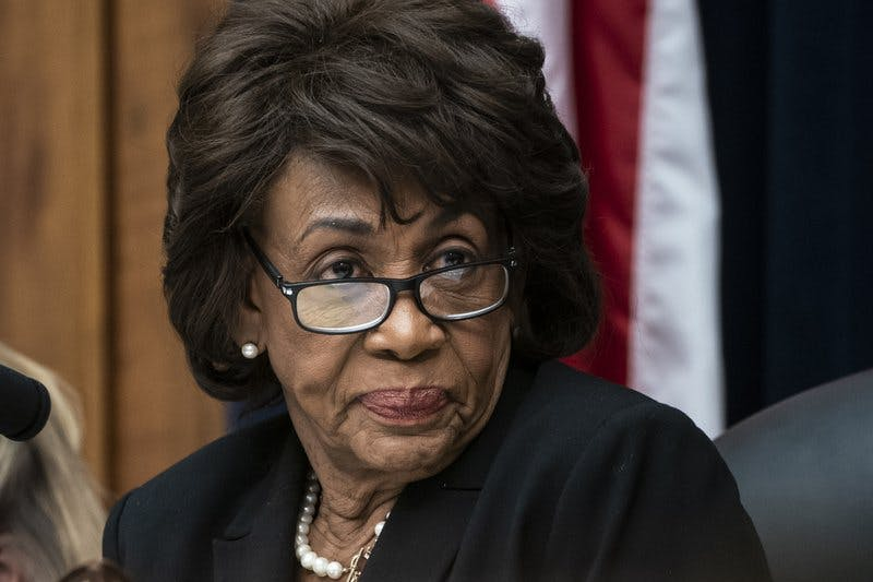 Rep. Maxine Waters chairs the House Financial Services Committee