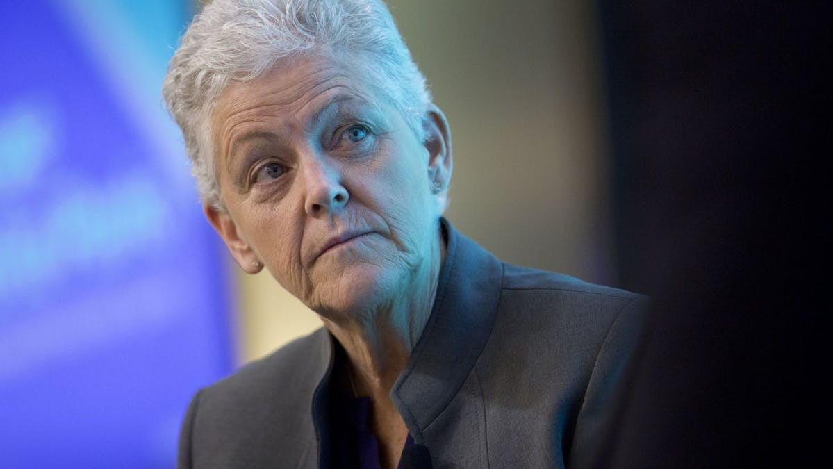 White House National Climate Adviser Gina McCarthy