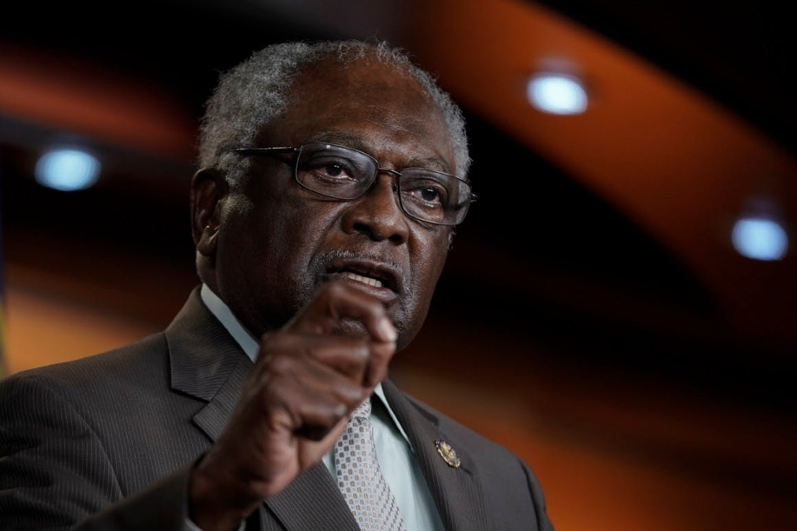 House Coronavirus Crisis Subcommittee Chair Jim Clyburn asked for documents by Aug. 20 to answer his questions about the design of the program.
