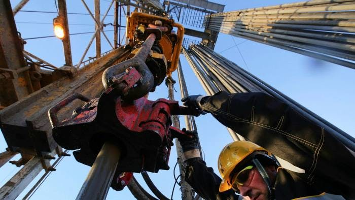 An oil worker on a rig operated by Rosneft. Didier Casimiro, one of the top executives at Russia's state-backed group, has warned of a potential supply crunch