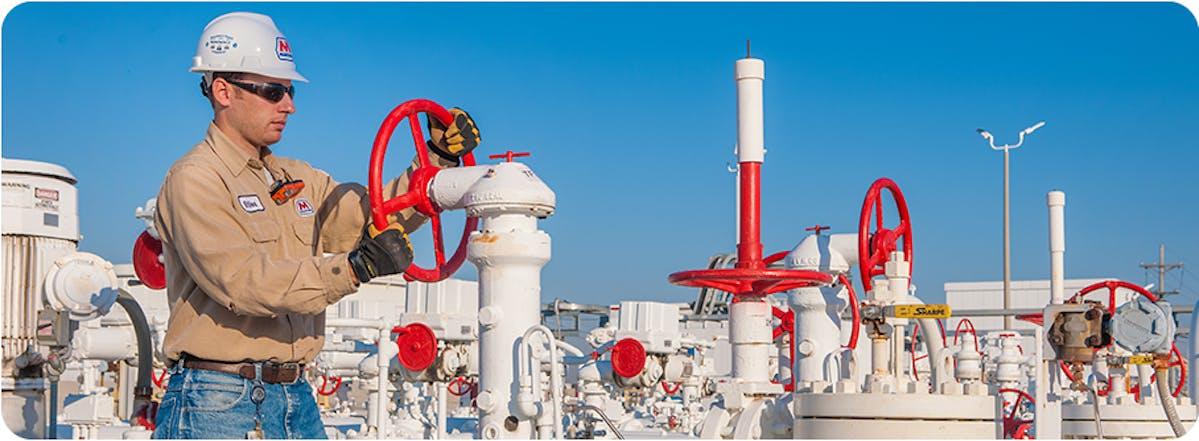 MPLX pipeline worker Marathon Petroleum