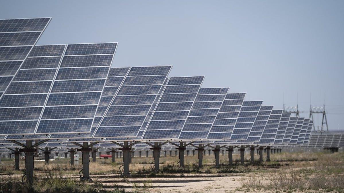 Solar farm Texas