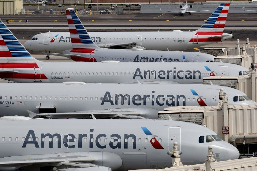 American Airlines, the biggest carrier, and other airlines are seeking another bailout from the federal government because of declining revenues during the COVID-19 pandemic.
