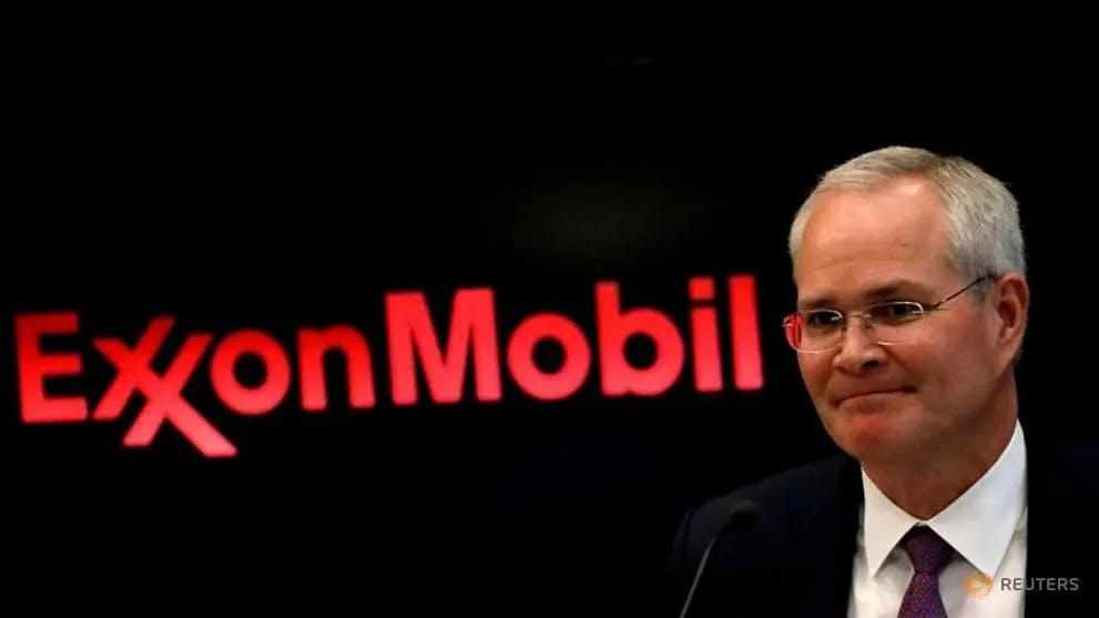 Darren Woods CEO Exxon Mobil