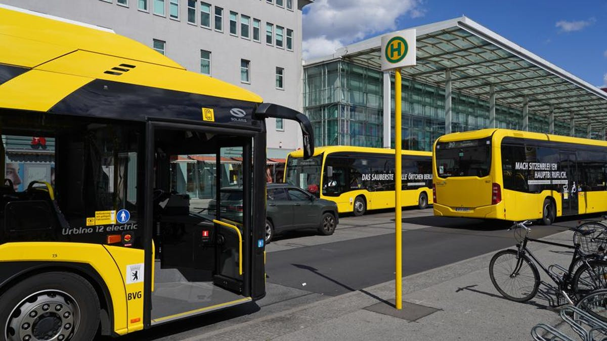 Electric buses in Germany