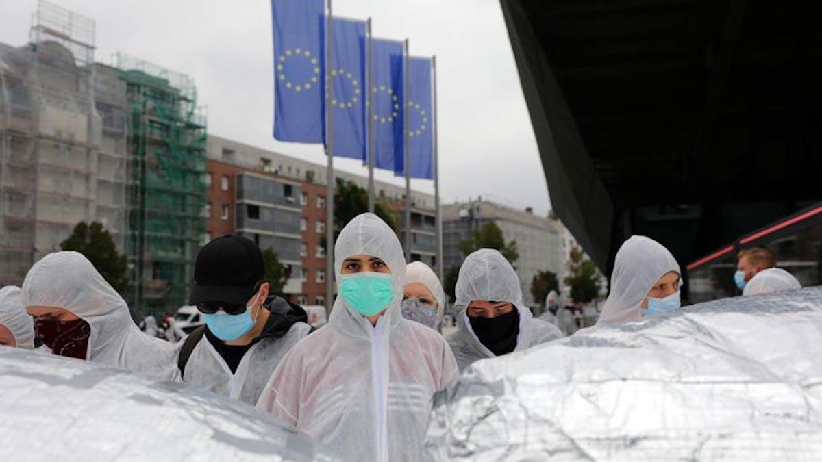 coronavirus europe personal protective equipment PPE
