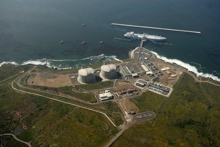 Utah officials are supporting the development of this liquefied natural gas terminal, called Energia Costa Azul, outside the Mexican port city of Ensenada, 65 miles south of San Diego. They hope it will ship Utah's natural gas to Asian markets.