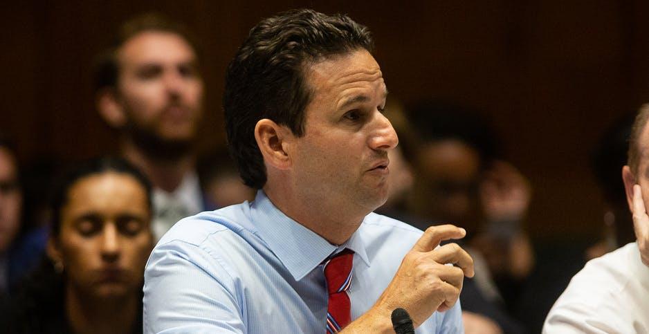 Sen. Brian Schatz wants regulators to make sure banks are prepared for climate change risks