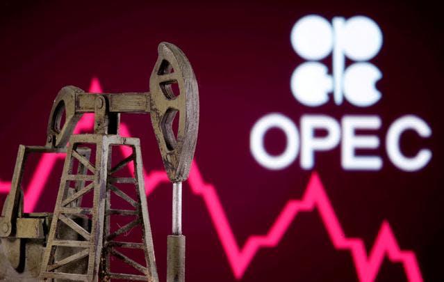 OPEC oil pumpjack